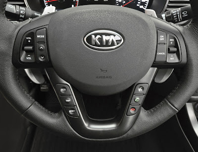 2011 Kia Optima Steering Wheel View