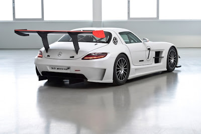 2010 Mercedes-Benz SLS AMG GT3 Rear View