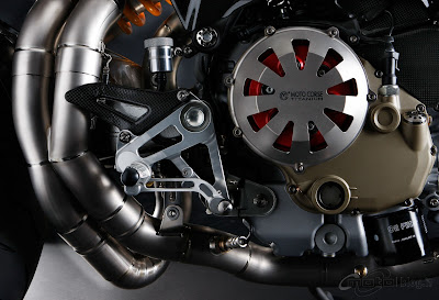 Ducati Monster Titanium Engine
