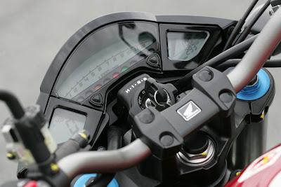 2010 Honda CB1000R Dashboard
