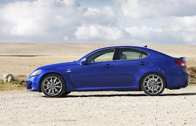 2011 Lexus IS F Side View
