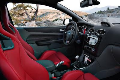 2011 Ford Focus RS500 Car Interior