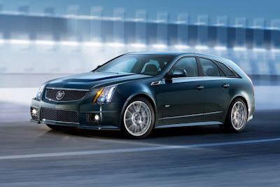 CADILAC CTS-V SPORT WAGON WALLPAPER
