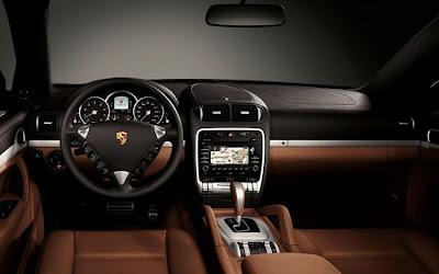 2011 Porsche Cayenne S Hybrid Car Interior