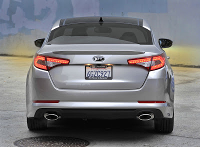2011 Kia Optima Rear View