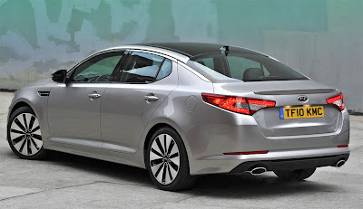 2011 Kia Optima Rear Side View