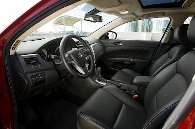 2011 Suzuki Kizashi Sport Front Seats Image