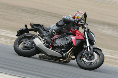 2010 Honda CB1000R Test Road