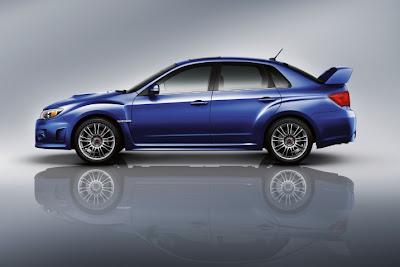 2011 Subaru Impreza WRX STI Side