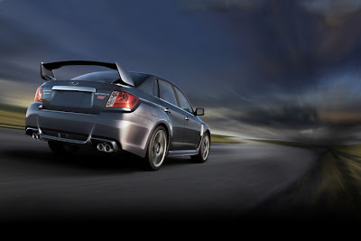 2011 Subaru Impreza WRX STI Rear