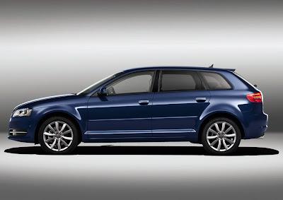 2011 Audi A3 Sportback Side View