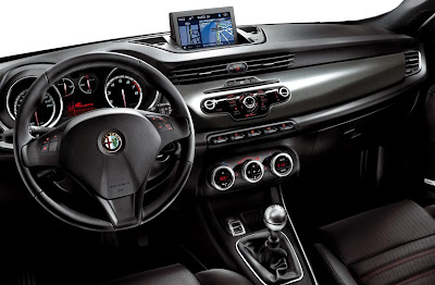 2011 Alfa Romeo Giulietta Interior View