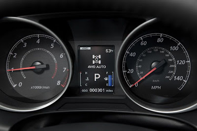 2011 Mitsubishi Outlander Sport Car Gauges