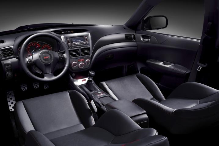 2011 Subaru Impreza WRX STI Interior 2011 Subaru Impreza WRX STI