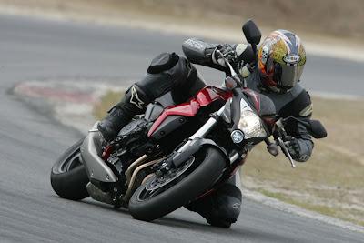 2010 Honda CB1000R Action