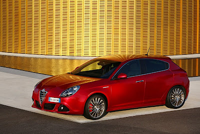 2011 Alfa Romeo Giulietta Red Edition