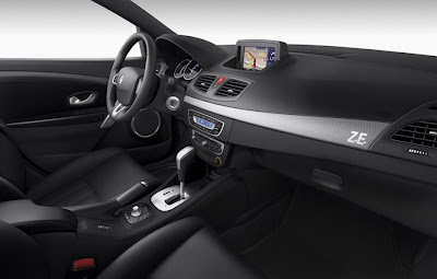 2011 Renault Fluence ZE Interior