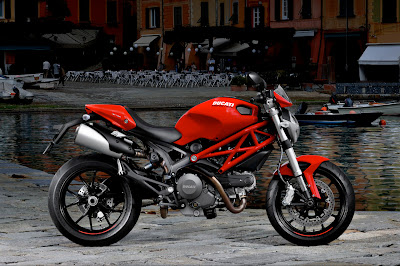2011 Ducati Monster 796 Red Color