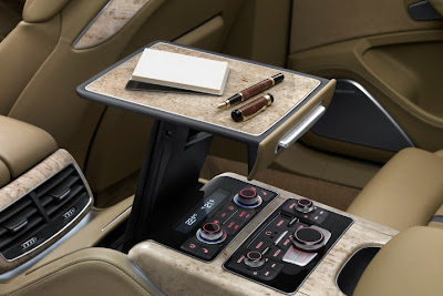 2011 Audi A8 L Pop Up Table