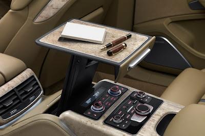2011 Audi A8 L Pop Up Table