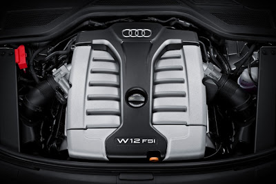 2011 Audi A8 L Car Engine