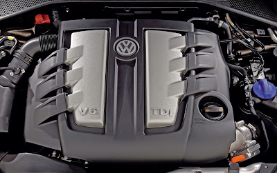 2011 Volkswagen Phaeton Engine