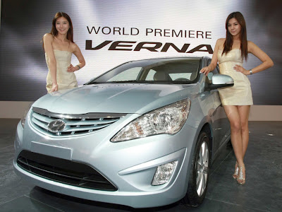 2011 Hyundai Verna-Accent Sexy Car Model