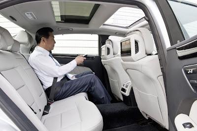 2011 Mercedes-Benz E-Class L Rear Seats