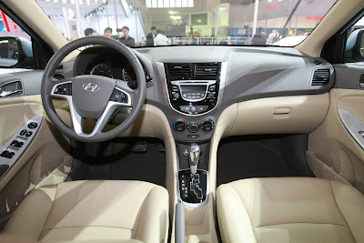 2011 Hyundai Verna-Accent Car Interior