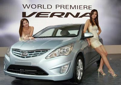 2011 Hyundai Verna-Accent Elegant Car