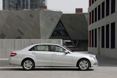 2011 Mercedes-Benz E-Class L Side View