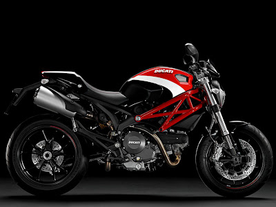 2012 Ducati Monster 796 Side View