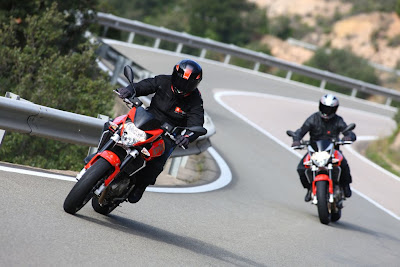 2010 Aprilia Shiver 750 Test Road