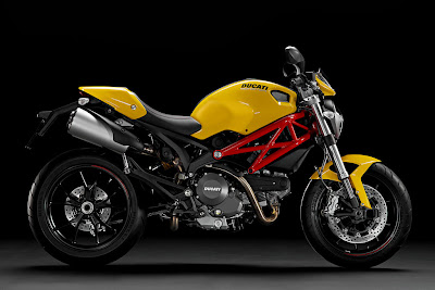 2011 Ducati Monster 796 Yellow
