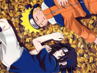 Naruto & Sasuke Sleeping Wallpaper