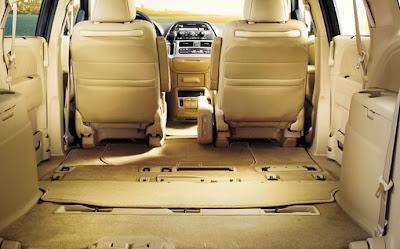 2010 Honda Odyssey Cargo Room