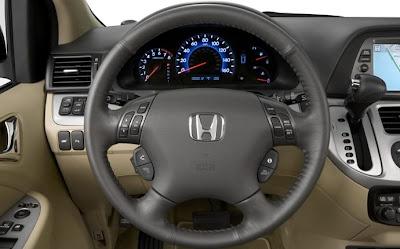 2010 Honda Odyssey Steering Wheel