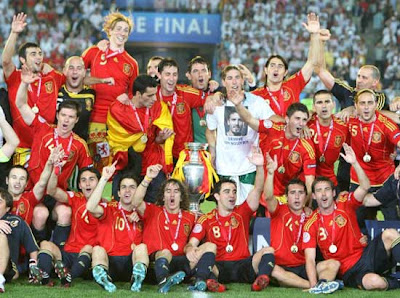 Spain Football Team Photo