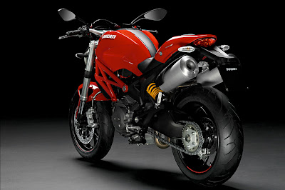 2011 Ducati Monster 796 Rear View