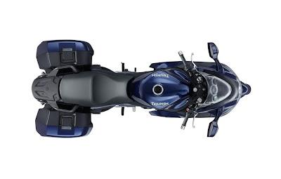2011 Triumph Sprint GT Overhead
