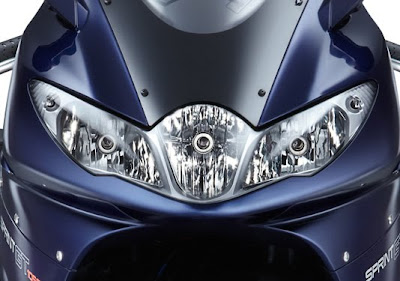2011 Triumph Sprint GT Headlights