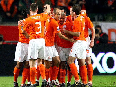 Holland Team World Cup 2010 Football Picture