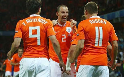 Holland Football Players World Cup 2010 Photo