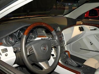 2010 Cadillac CTS Sport Wagon Interior