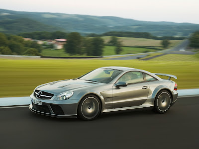 2009 Mercedes-Benz SL 65 AMG Black Series Luxury Car