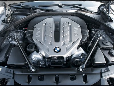 2009 BMW 7 Series Twin Turbo Engine