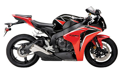 2010 Honda CBR1000RR ABS Black Red