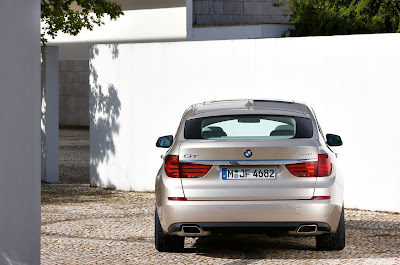 2010 BMW 5-Series Gran Turismo Rear View
