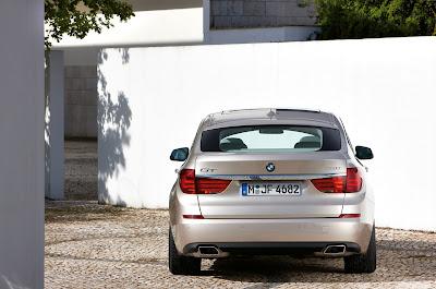 2010 BMW 5-Series Gran Turismo Rear View