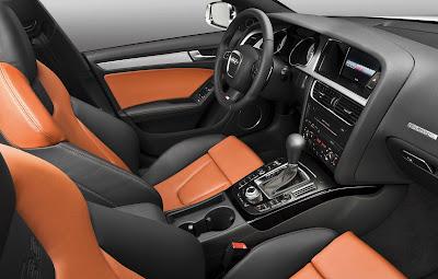 2010 Audi S5 Sportback Interior